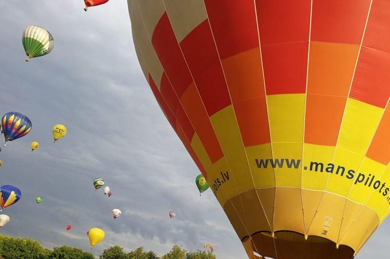 Полёт на воздушном шаре.