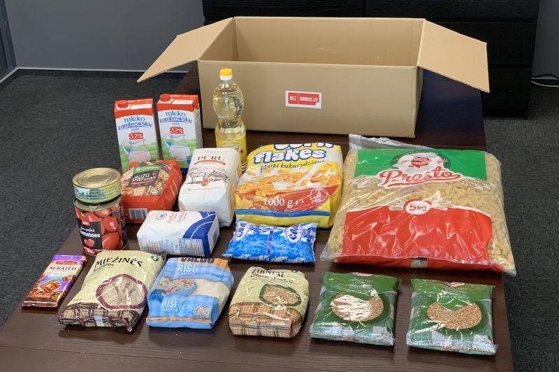 Karantīnas pārtikas paka (piegāde uz Jūsu mājām ar DPD kurjeru)